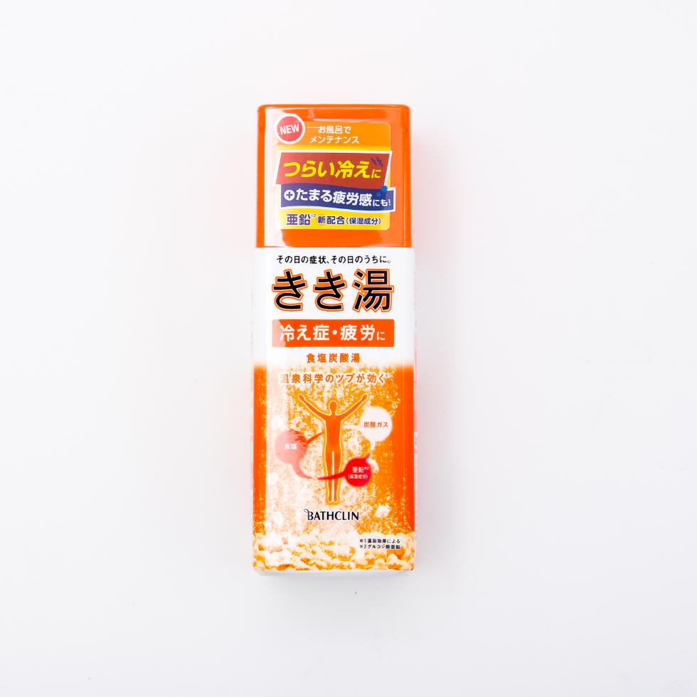 きき湯 炭酸入浴剤 食塩炭酸湯 360gのメイン画像