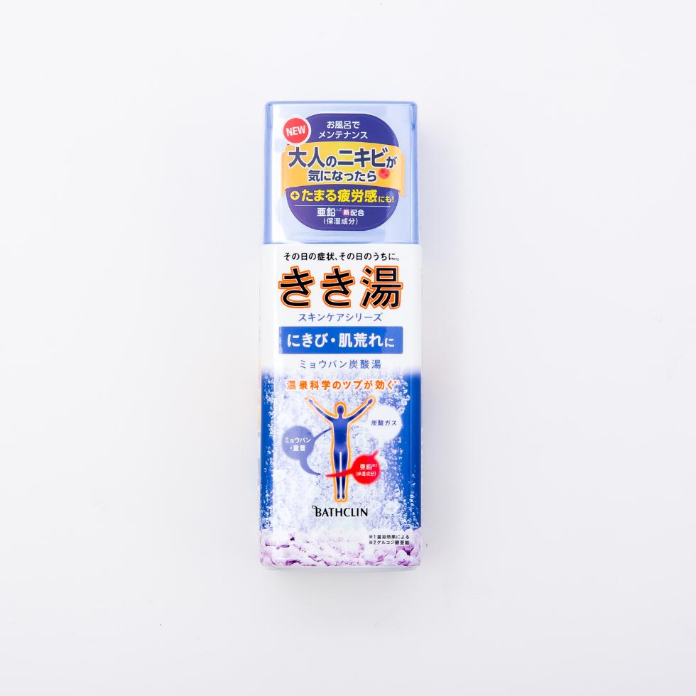 きき湯 炭酸入浴剤 ミョウバン炭酸湯 360gのメイン画像