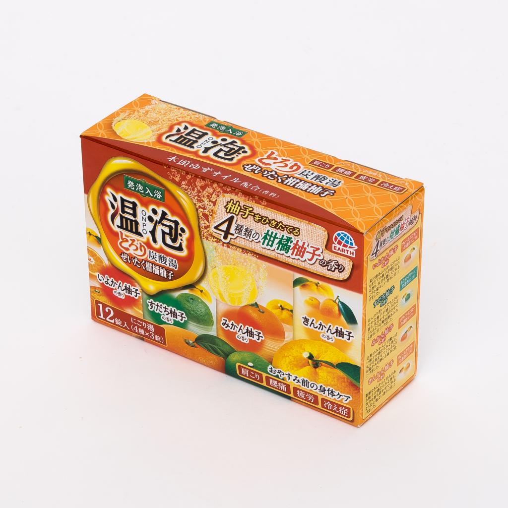 温泡とろり炭酸湯ぜいたく柑橘柚子のメイン画像