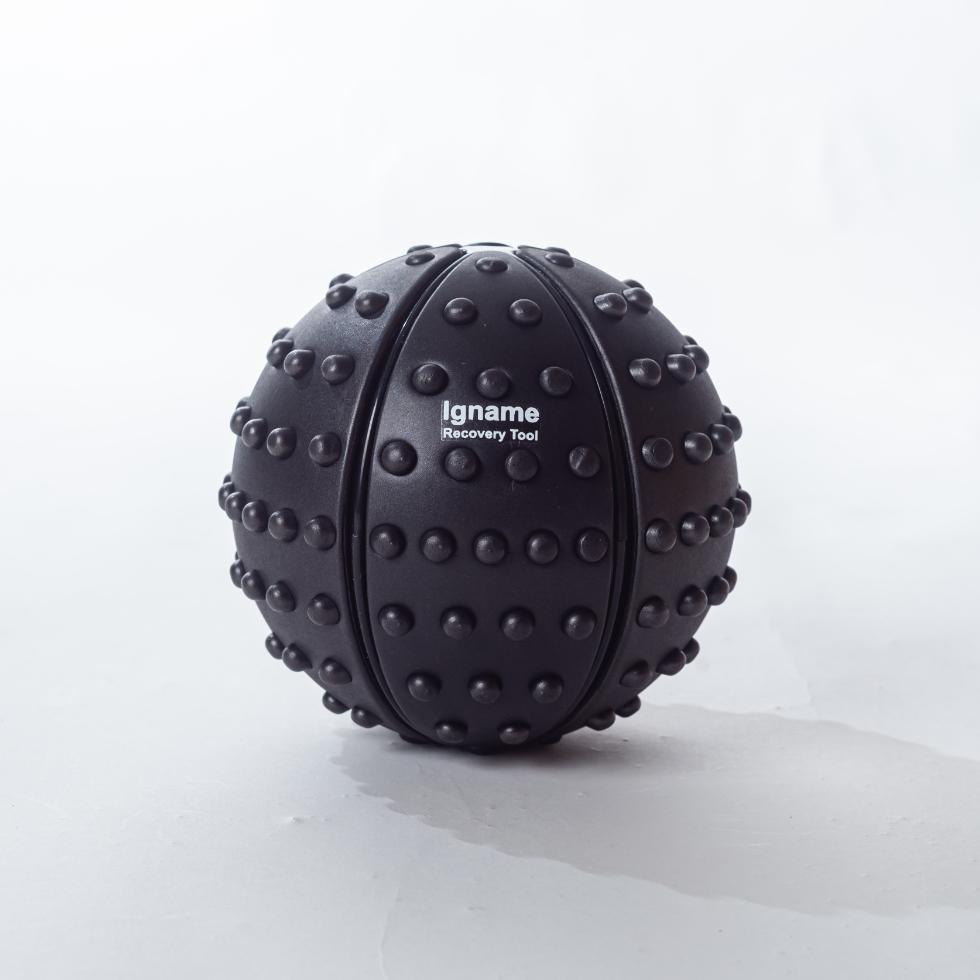 ヘビーマッサージボール ブラックのメイン画像