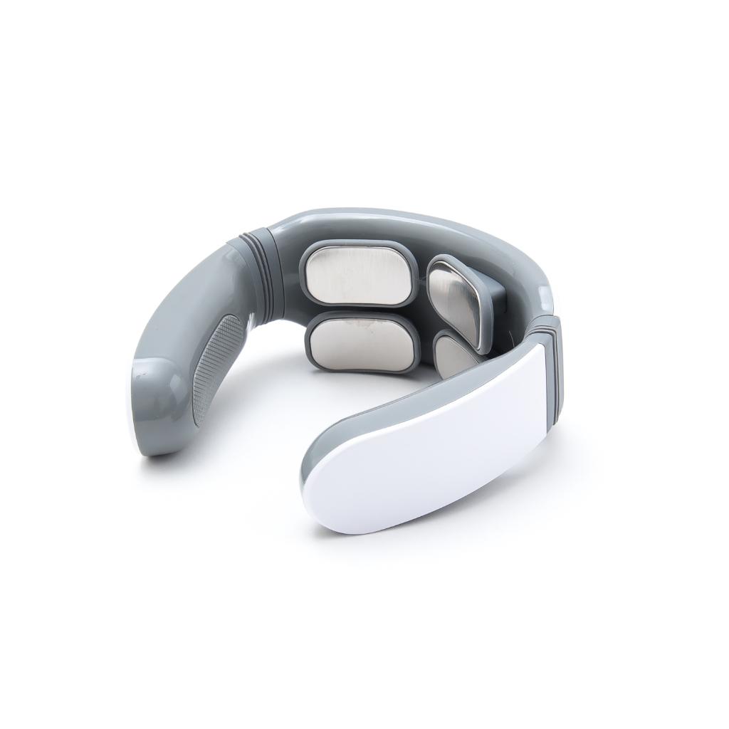 ネックマッサージャー 4つのマッサージヘッド5種マッサージモード USB充電式のメイン画像