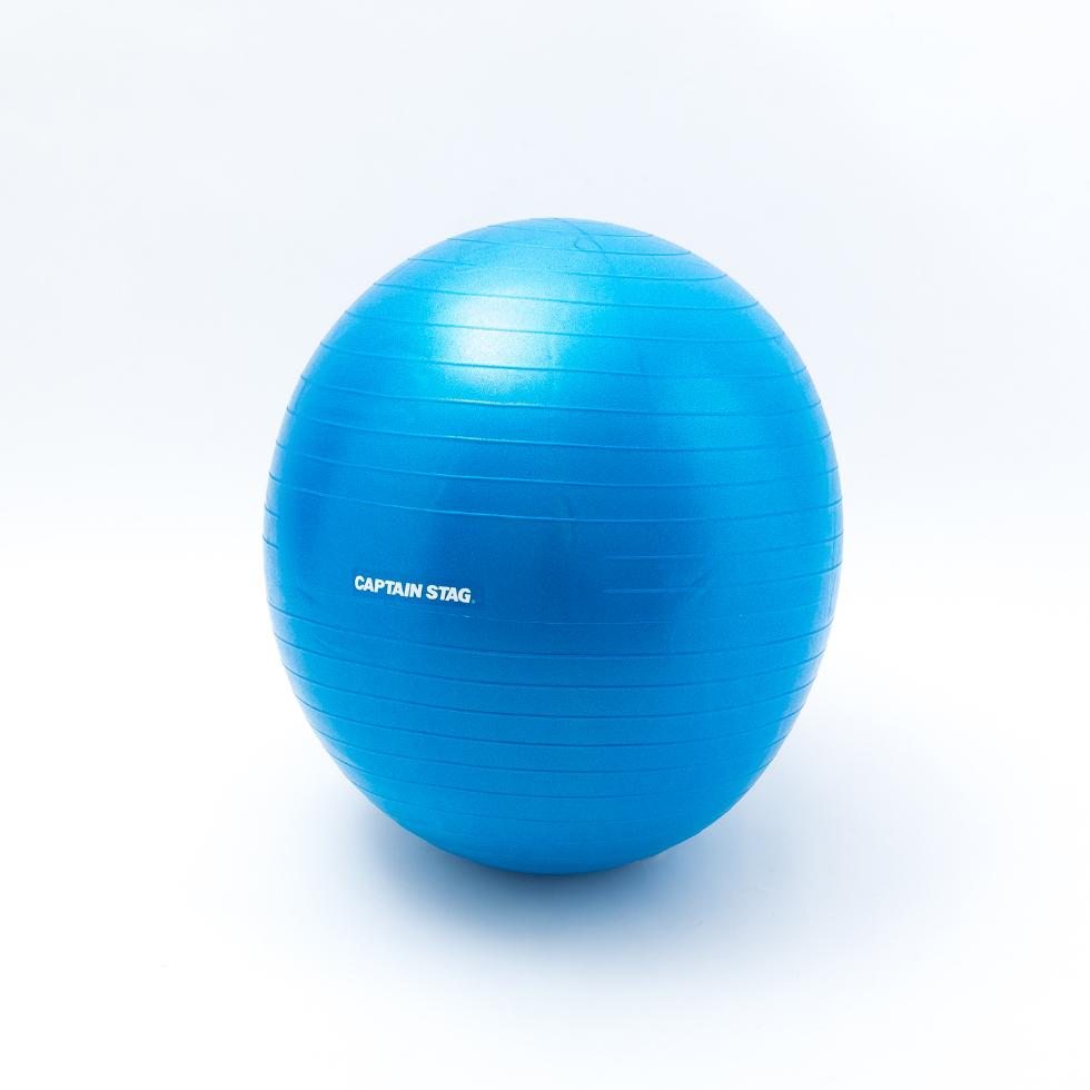 フィットネスボール ブルーのメイン画像