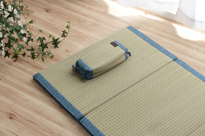 イケヒコ コバガードい草 角枕 のメイン画像