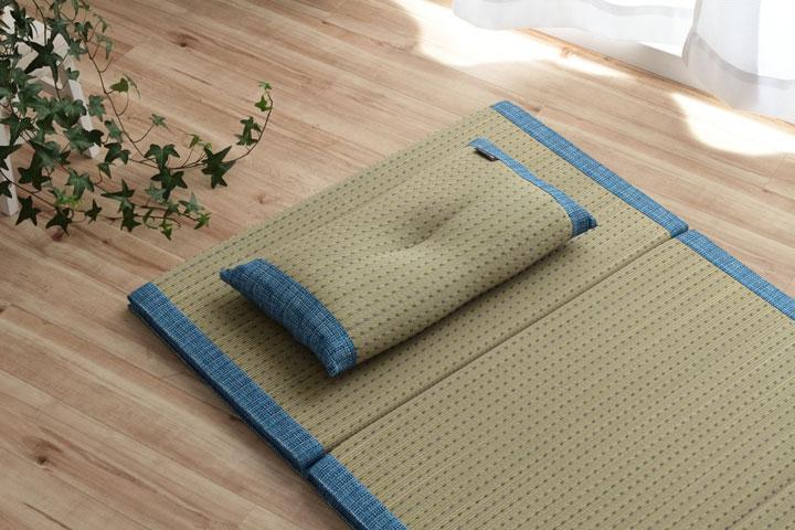 イケヒコ コバガードい草 くぼみ平枕のメイン画像
